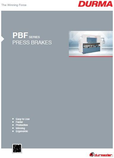 Каталог листогибочных станков серии PBF